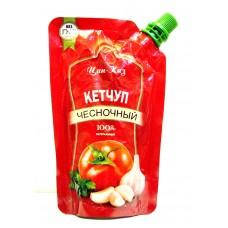 Кетчуп Цин-Каз Чесночный м/у 150 гр