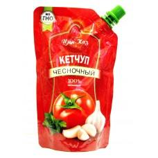 Кетчуп Цин-Каз Чесночный м/у 250 гр