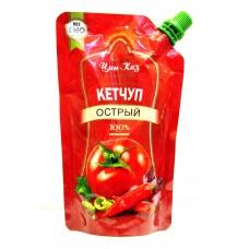 Кетчуп Цин-Каз Острый м/у 250 гр