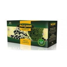 Чай Ассам фруктовый пакетированный черная смородина, 2 гр. х 25 шт.