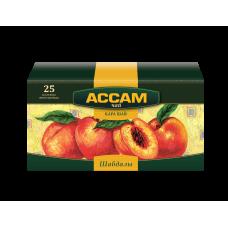 Чай Ассам фруктовый пакетированный персик, 1,8 гр. х 25 шт.