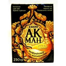 Чай Акман Gold кенийский купаж гранул и листьев 250 гр